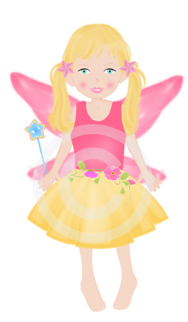 Lil Miss Fairy Graphic