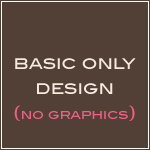 Basic Design Plan- No Graphics-