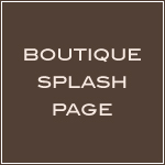 Boutique Splash Page