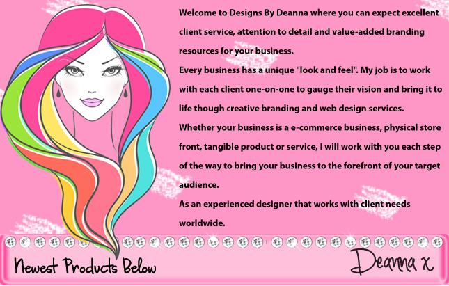 girly boutique web design
