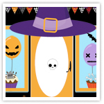 Halloween Boutique Graphic