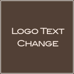 Logo Text Change-