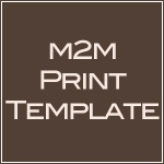 Made 2 Match Print template