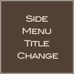 Side Menu Title Change-girly web design,